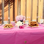 Tea-party bridal shower